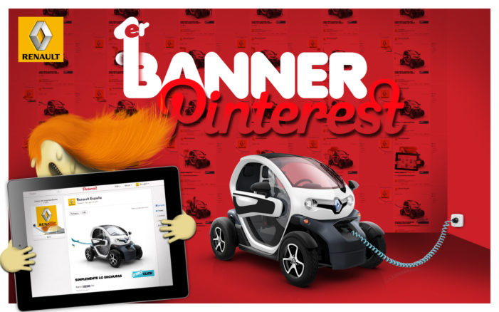 FIRST PINTEREST BANNER: STARRING RENAULT TWIZY