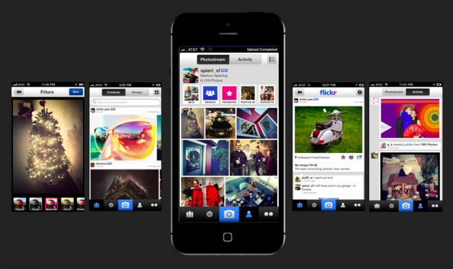 Flickr app to rival Instagram