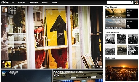 Flickr launches new site design
