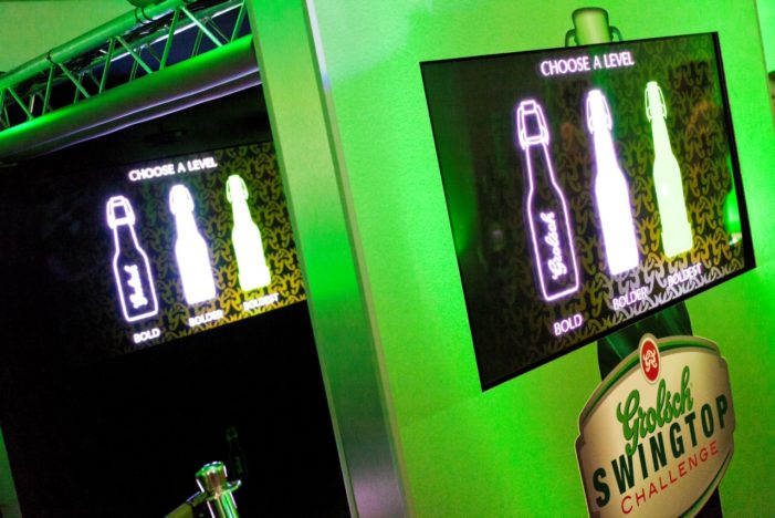 Grolsch to take interactive game cube on the road in biggest campaign this year