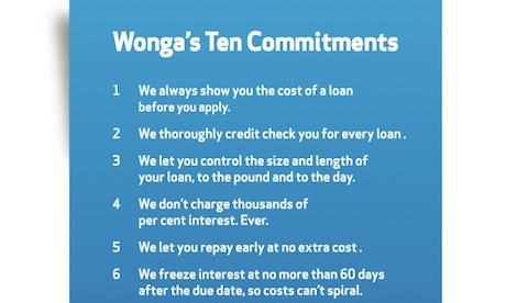 Wonga bashes Archbishop with 'Ten Commitments' ad
