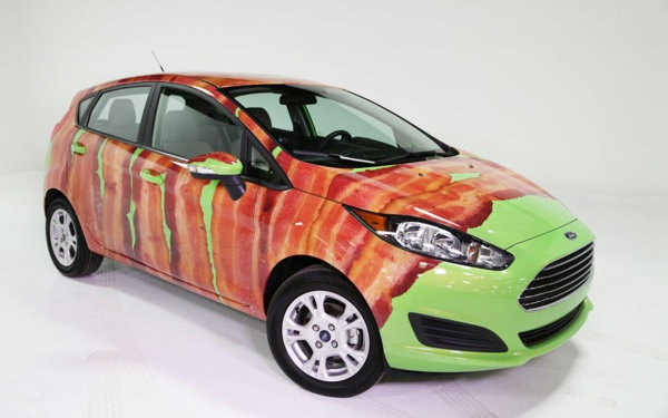 For Bacon Day, Ford Offers New Buyers An Option To Wrap Their Car In Bacon