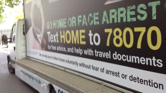 Home Office accused of illegal font use on illegal immigrants campaign