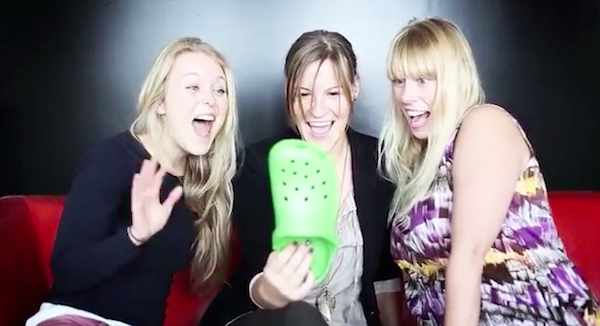In iPhone 5C Spoof Ad, Croc Shoes Imagined As Colorful Phones