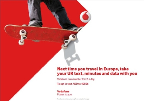 The Brand Union and Digit update Vodafone's look