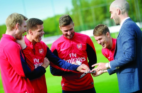 CMW's Magic Surprise for Arsenal