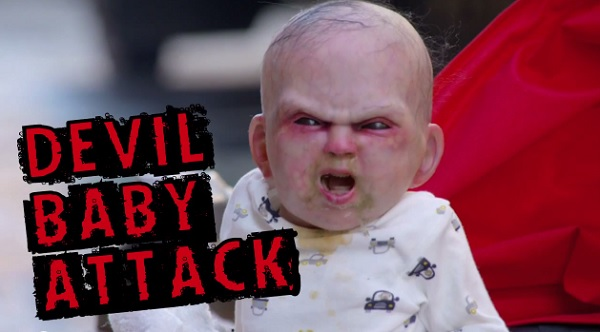 'Devil Baby' Scares New Yorkers In The Latest 'Prankvertisement'