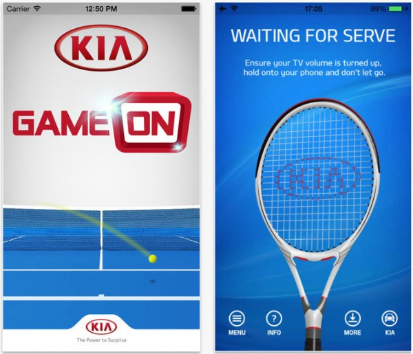 Kia launch tennis serve app in Australian Open tie in