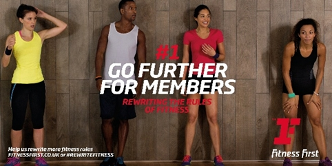 Fitness First rebrands with 'energetic' red