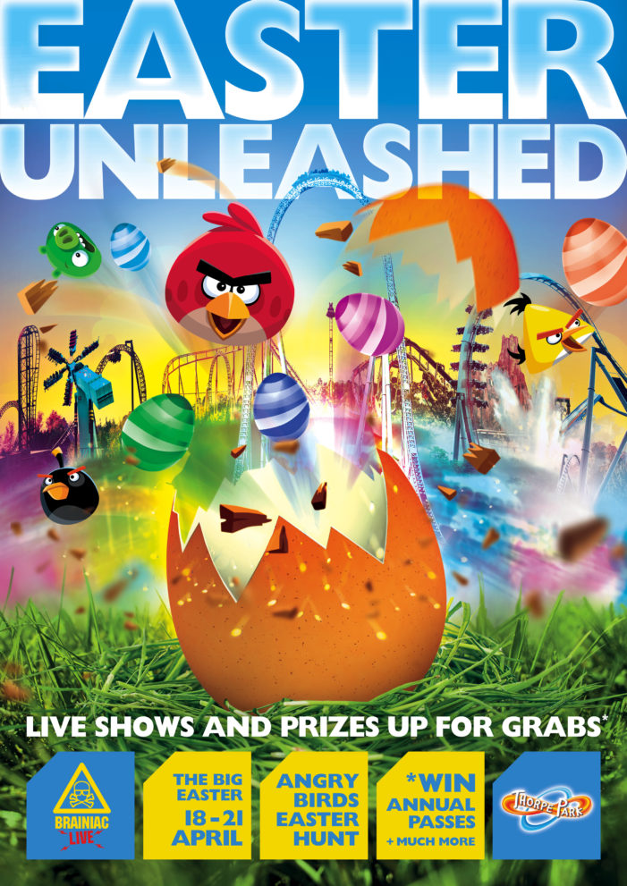 Space brings Angry Birds Easter Hunt to Thorpe Park Resort
