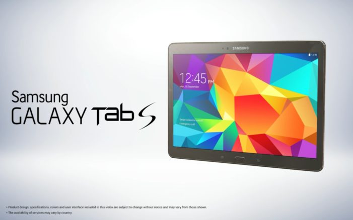 Cheil creates a new TVC for Samsung's Galaxy Tab S to highlight its super-rich and colourful AMOLED display