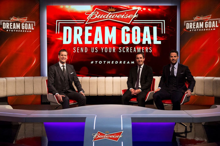 Budweiser & Sky Sports launch search for UK's amateur Dream Goal of the season