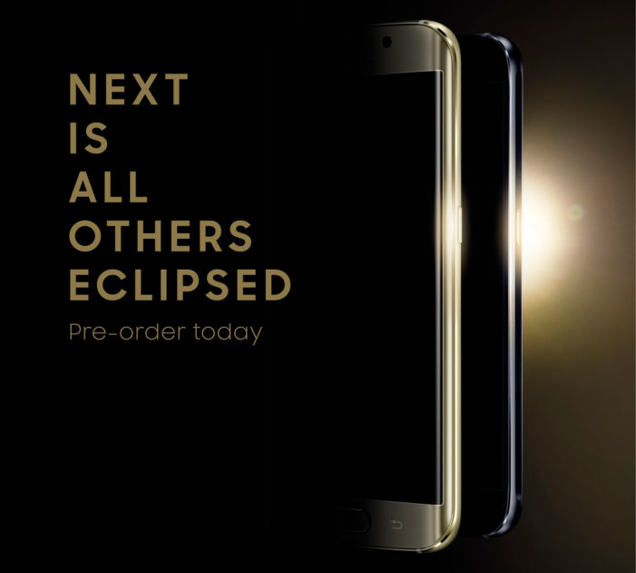Samsung launches eclipse-themed campaign to announce pre-order of the Galaxy S6