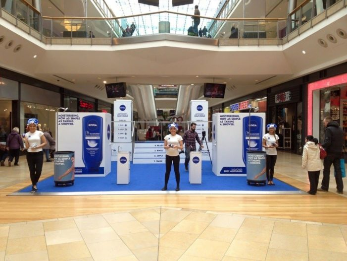 Space Builds Full-Body Brand Intimacy Activity for Nivea