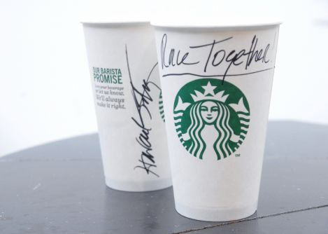Starbucks 'completes' its campaign to write Race Together on coffee cups after waves of criticism