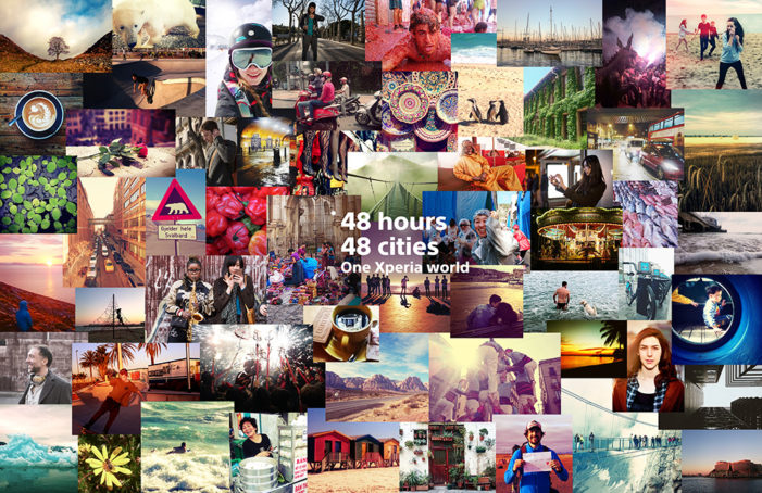 Fans in 48 cities share photos over 48 hours for new Sony Xperia campaign
