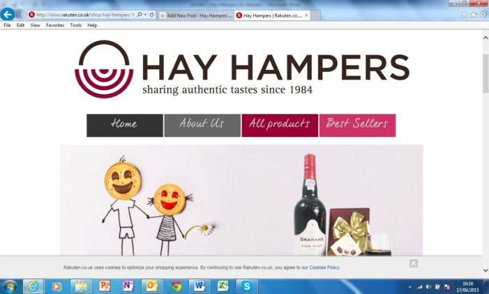 Hay Hampers land on Rakuten.co.uk