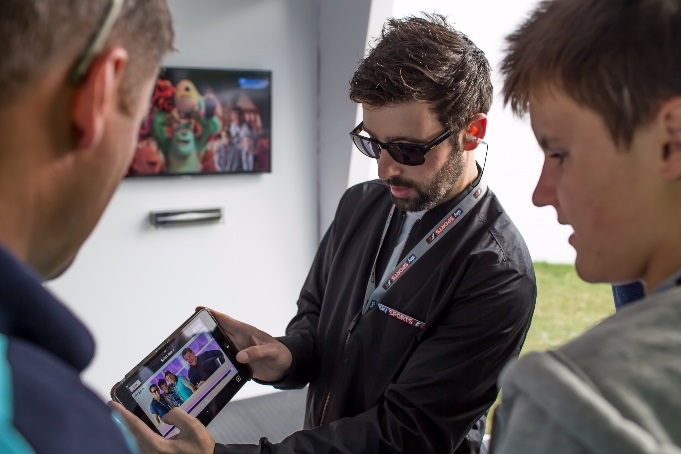 RPM ensure Sky Sports F1 comes first place at Goodwood Festival of Speed 2015