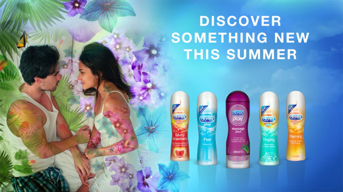 New Durex summer campaign encourages couples to try something new in the bedroom