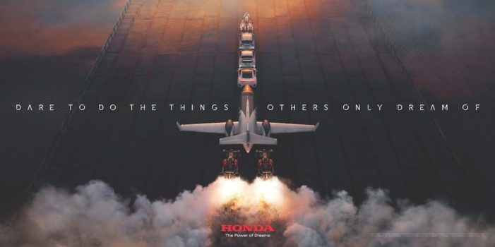 W+K London Blasts Off with Rip-roaring New Honda Campaign