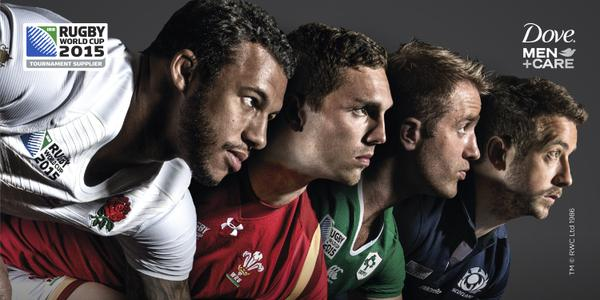 Dove's Rugby World Cup campaign says 'care makes a man stronger'