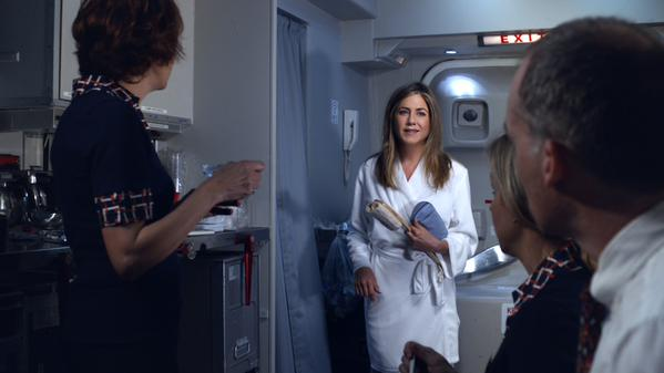 Jennifer Aniston wakes up to comfort and luxury in Emirates' latest product campaign