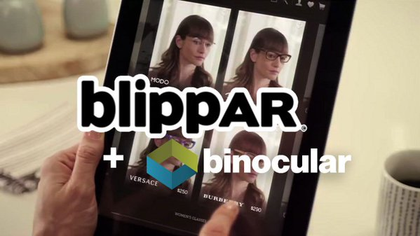 Blippar Acquires AR Try-on Platform Binocular