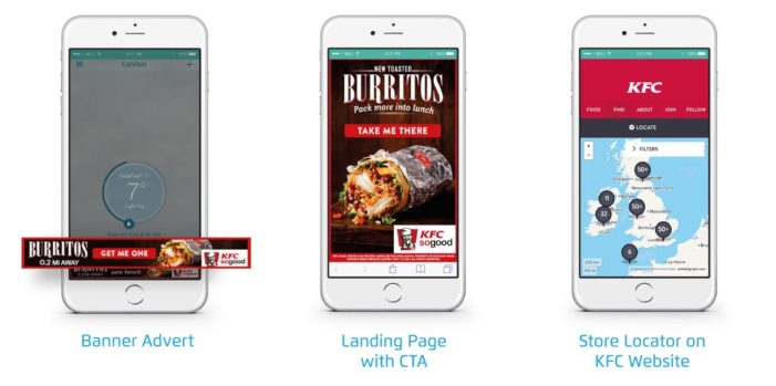 KFC Goes Mobile with Location-based Campaign