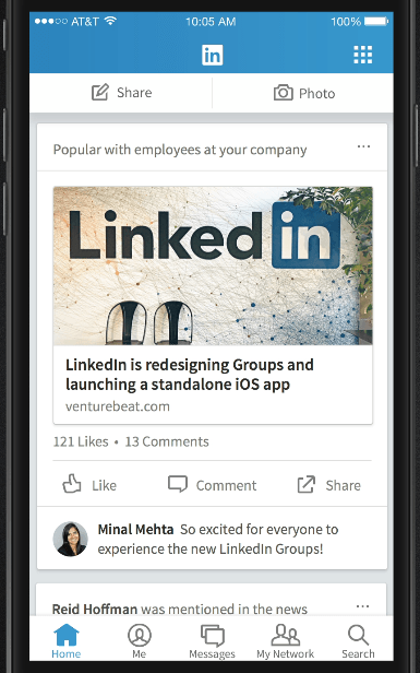 how to add anew post in linkedin
