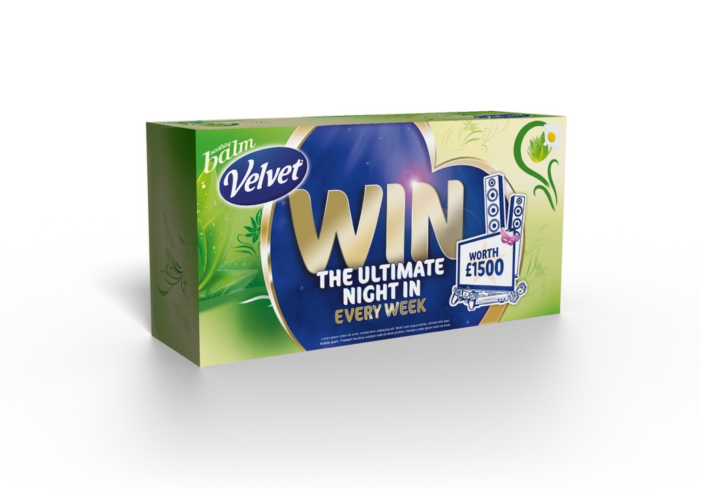 LIFE and Velvet Facial Tissues lift the winter gloom with Ultimate Night In On Pack Promotion
