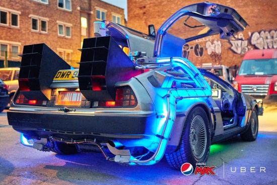AMV BBDO gives Londoners the ride of their lives to celebrate 30th anniversary of Back To The Future II