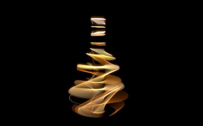 Hennessy creates animated light installation for Harrods' window display