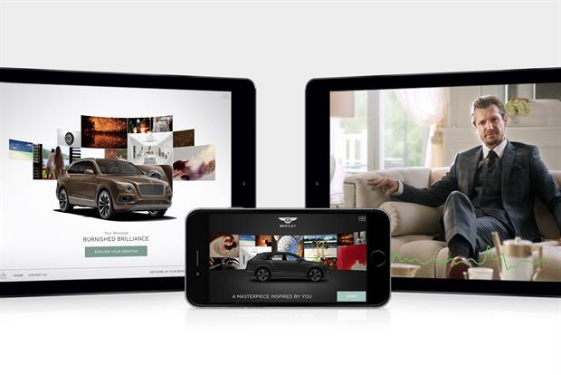 Bentley app reads emotions to create personalised car designs