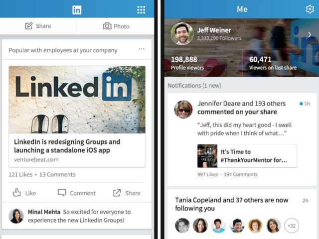 LinkedIn shows off Project Voyager, its new flagship mobile app