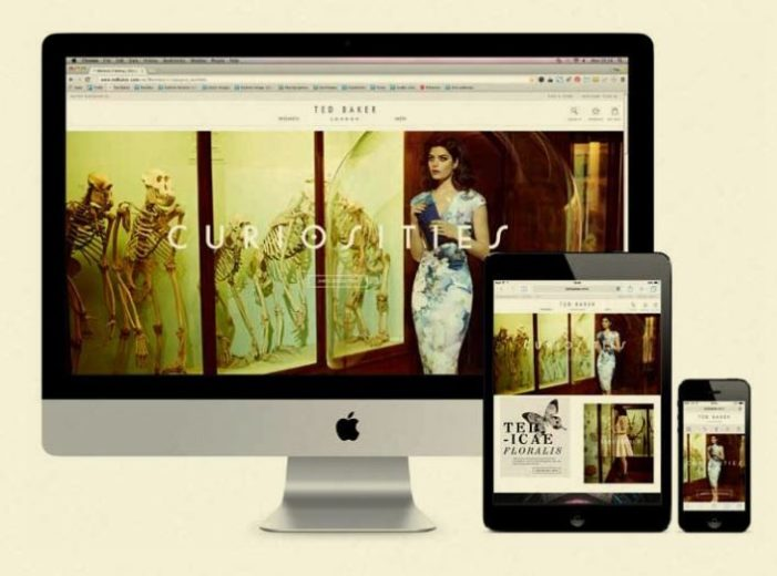 Ted Baker mobile investment pays off as ecommerce sales surge 64%