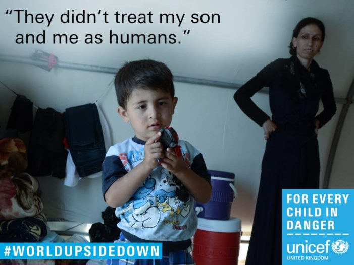 New Unicef UK film shows exploitation and abuse children suffer in wars and crises