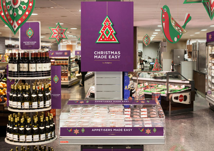 Taxi Studio delivers Christmas 2015 'Look & Feel' to Budgens stores UK-wide