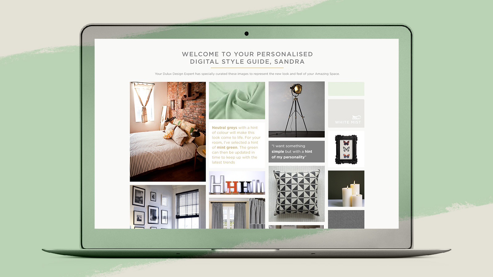 Dulux Launches Uk S First Online Interior Design Service Marketing Communication News