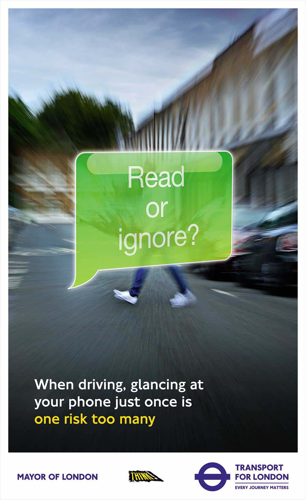 M C Saatchi Launches Tfl S One Risk Road Safety Campaign