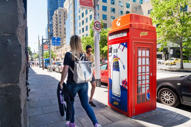 GPY&R and Schweppes brings London to the streets of Australia in new outdoor work