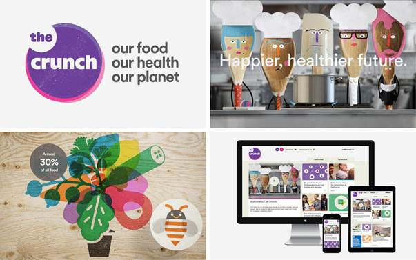 Wellcome Trust launches The Crunch featuring brand identity & communications from Blast