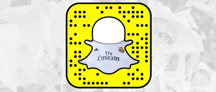Real Madrid Partners with Snapchat for El Clásico