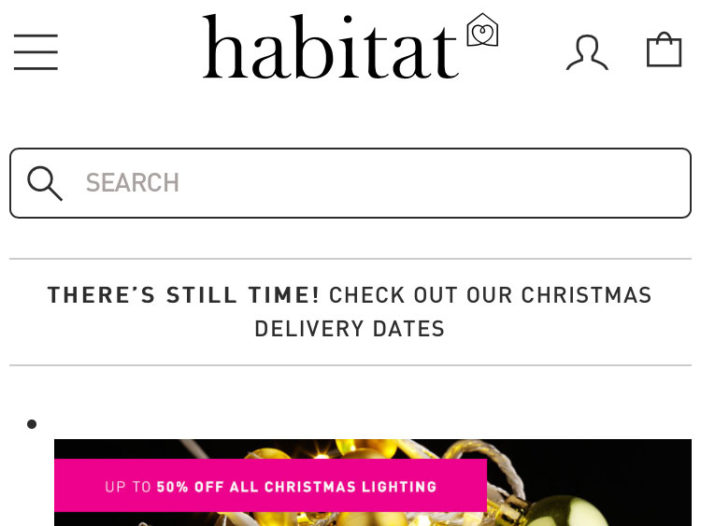 Habitat Refreshes eCommerce Platform with Mobile-first Design