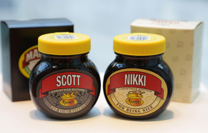 Marmite divides the UK with the launch of new Christmas limited edition jars
