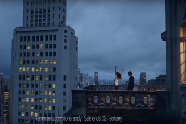 British Airways creates feel good ad for Christmas evening slump