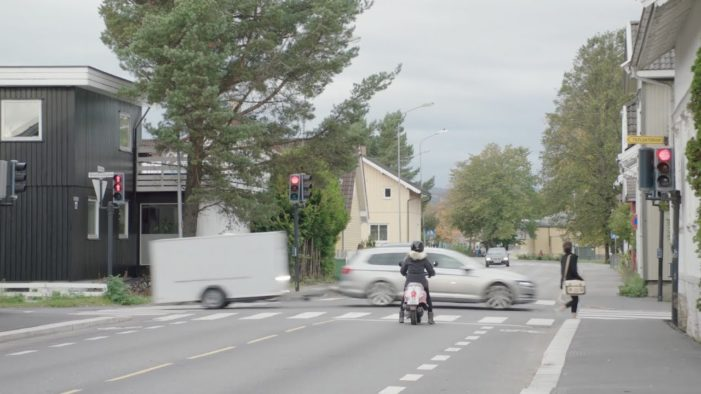 Volkswagen Shocks Norway with Outrageous Trailer Stunt