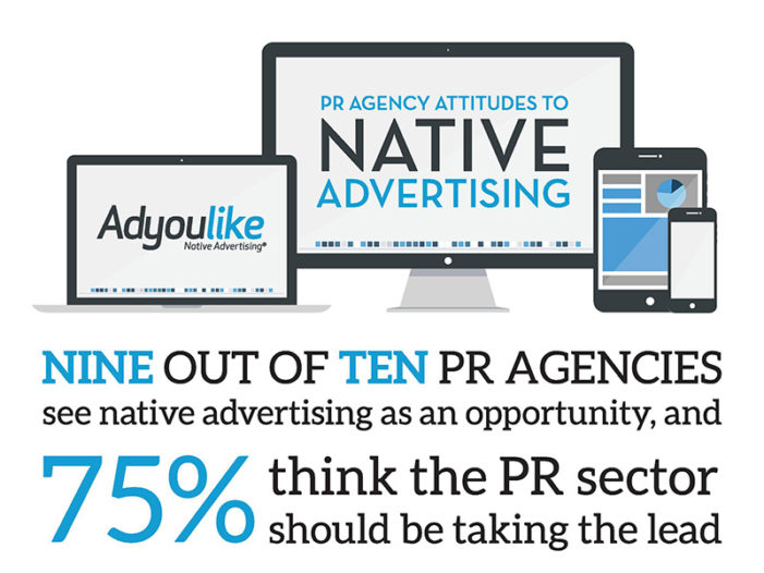 Nine out of ten PR agencies see native advertising as an opportunity