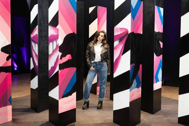 Pepsi Max Cherry Brings a Taste Revolution to Life with GIF-iti Art