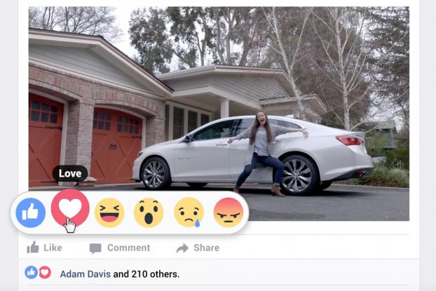 Chevrolet Loves Facebook Reactions in New Ad by Commonwealth / McCann