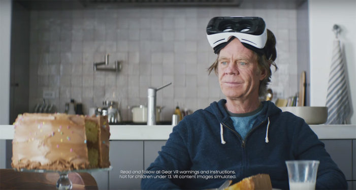 Samsung straps William H. Macy into a Gear VR for Oscars ad